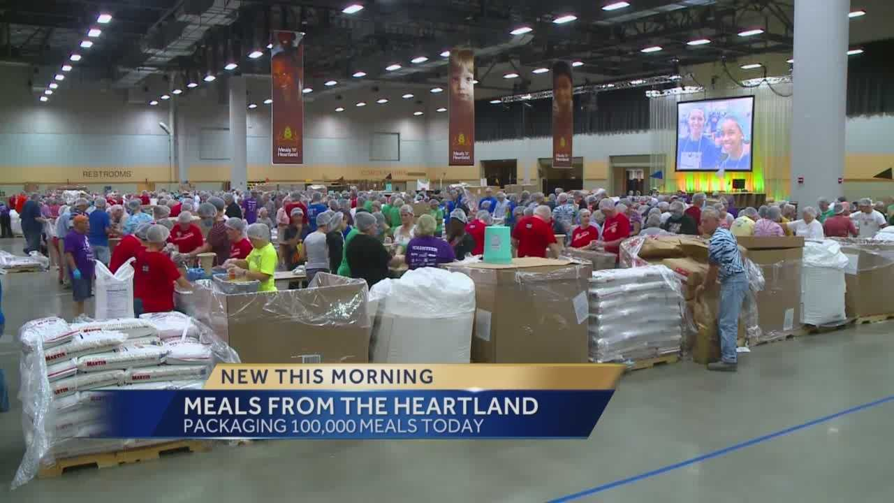 The Iowa Hunger Summit starts Tuesday. As part of this summit, volunteers will be packaging 100,000 Meals From the Heartland that will stay in Iowa.