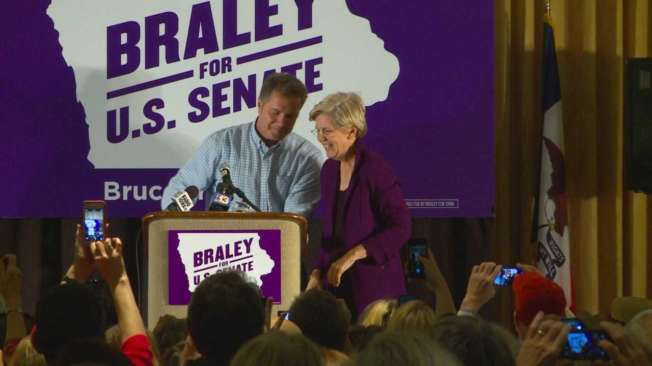 Senate candidates are pulling out all the star power to help push Iowans to vote.