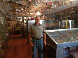 Clayton Overton, of Woodward, has one the nicest and best toy collections you'll ever see. Check it out in tonight's Karlin Covers Central Iowa.
