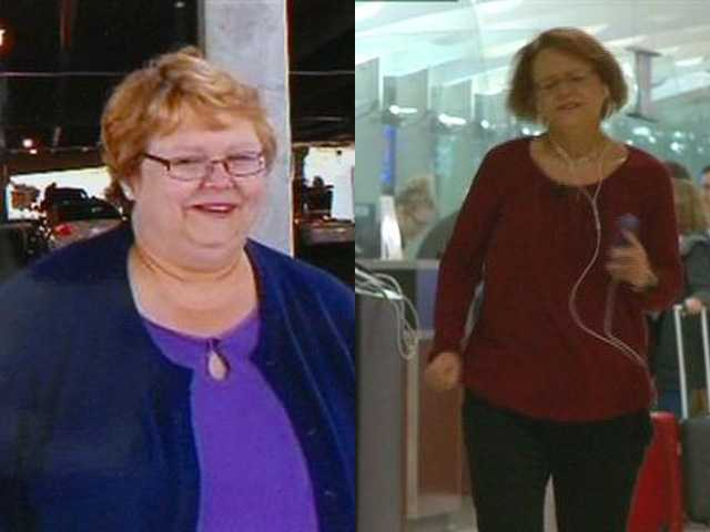 Jill Vento is turning heads around the luggage carousel with her weight loss story.