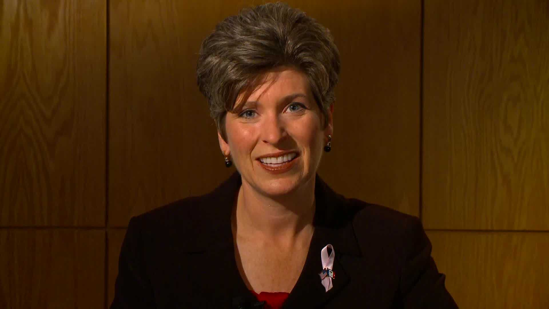 Joni Ernst asks for your vote in the race for Iowa U.S. Senate.