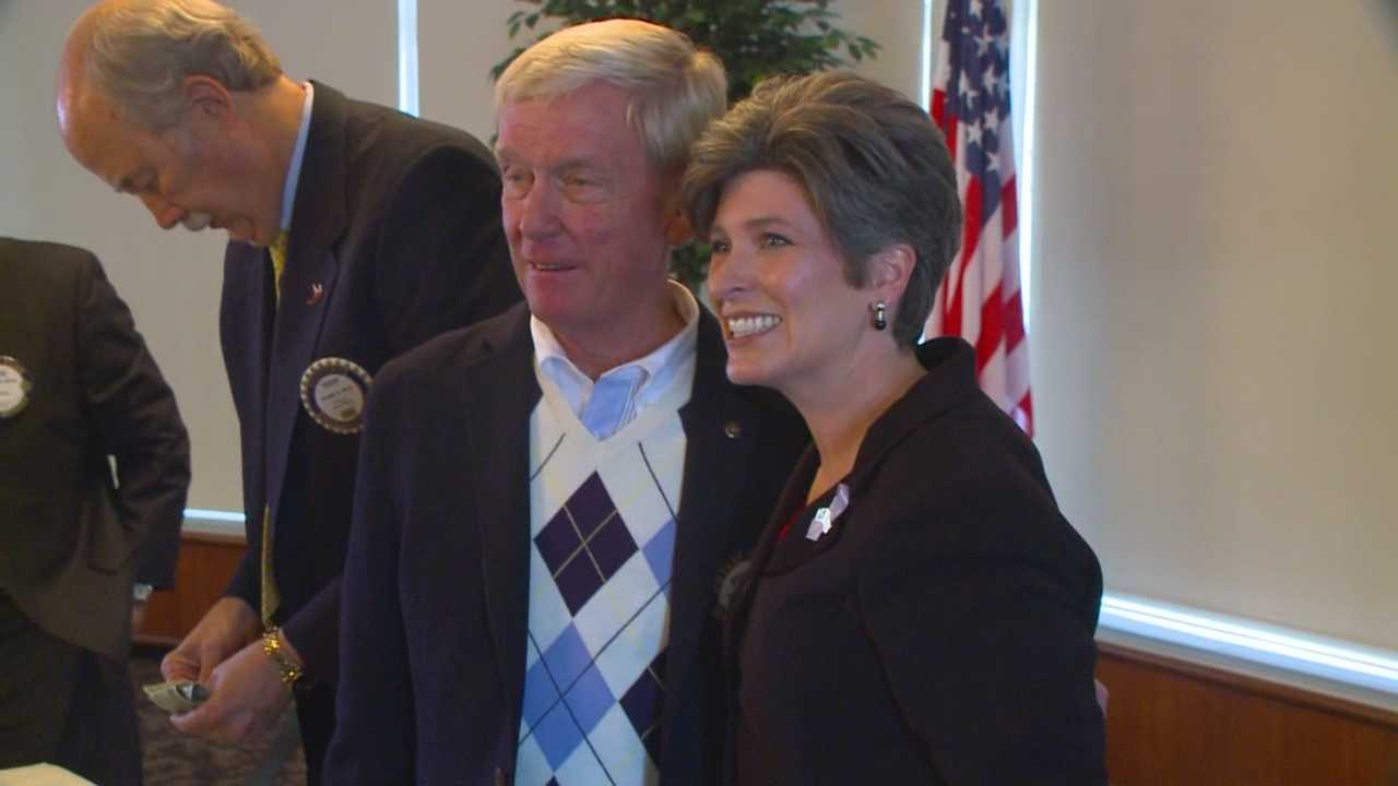 Republican Joni Ernst tells KCCI viewers why she wants to represent Iowa in Washington.