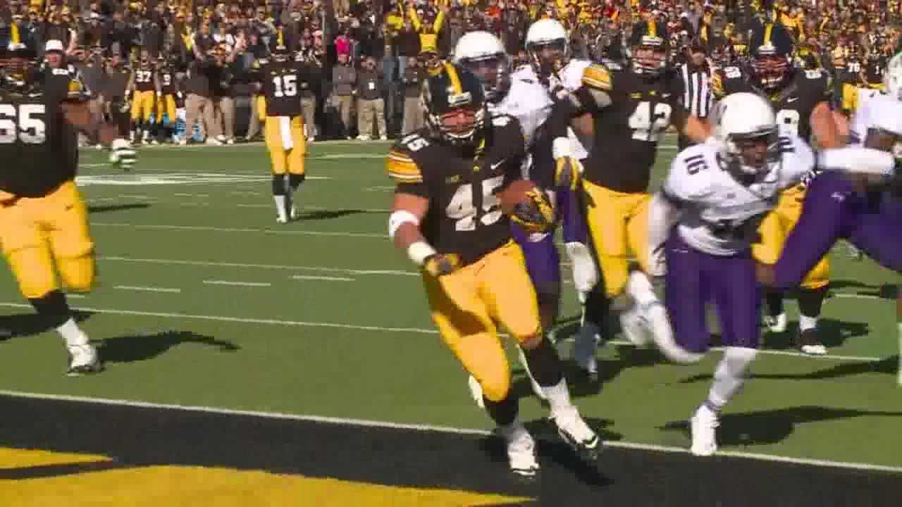 The Hawkeyes had their best game of the season Saturday against Northwestern