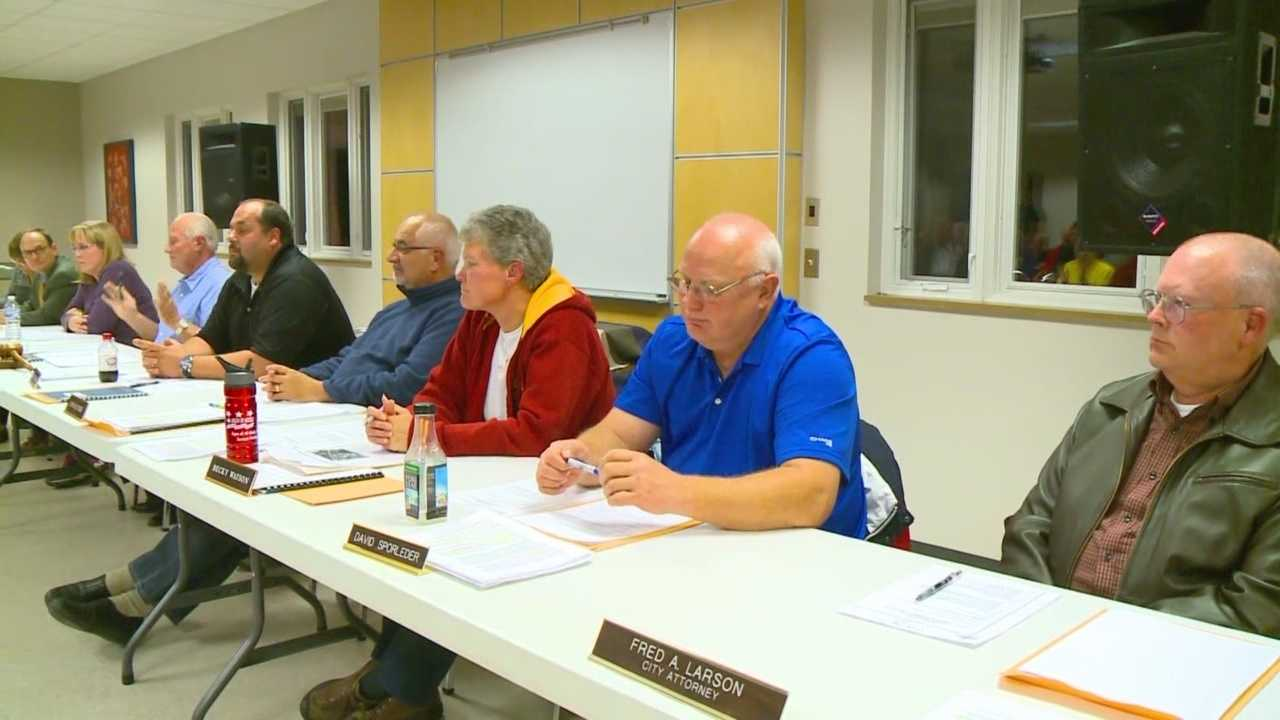 City council members voted Monday on a proposal to build a Love's truck stop on the town's main exit ramp.