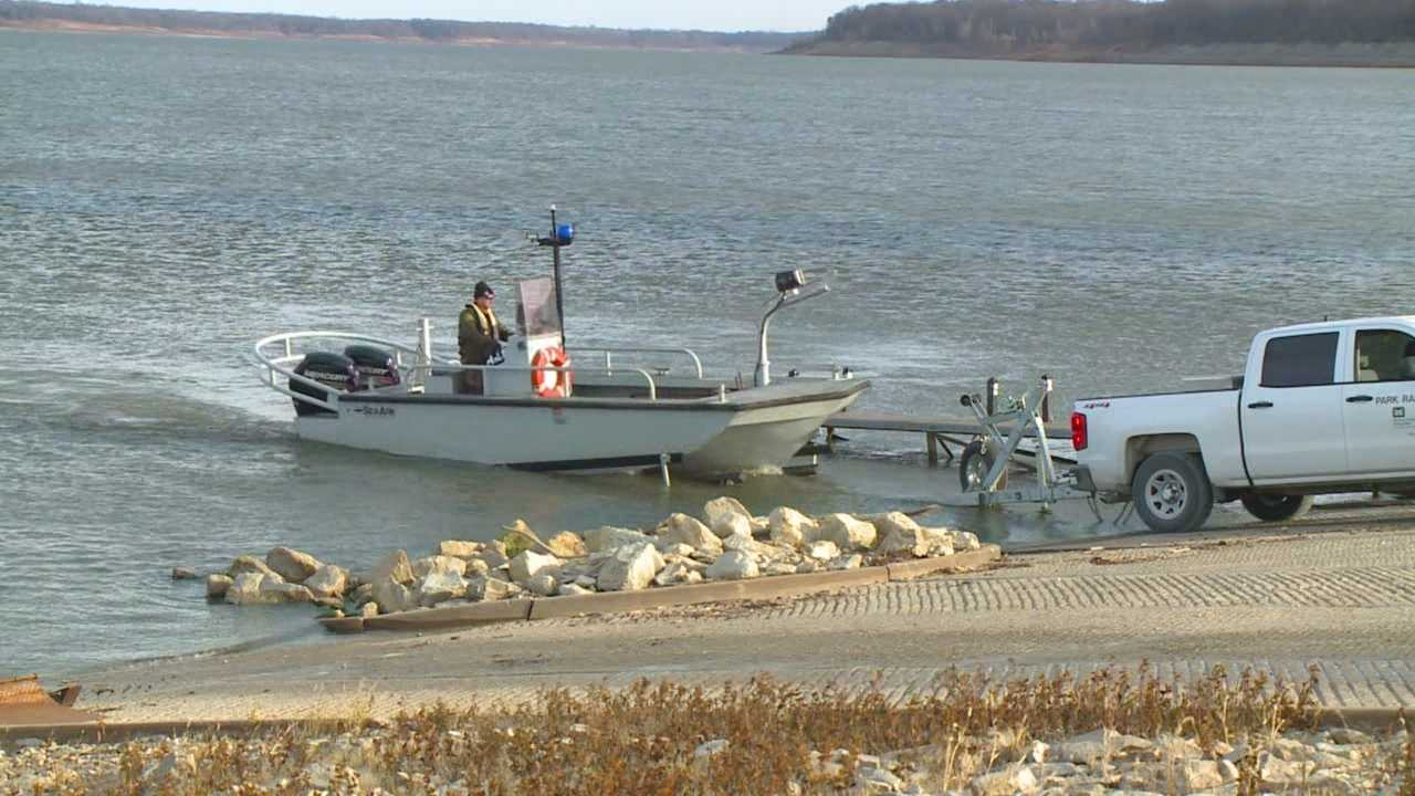 A man went missing after his boat capsized around 12:45 a.m. Saturday.