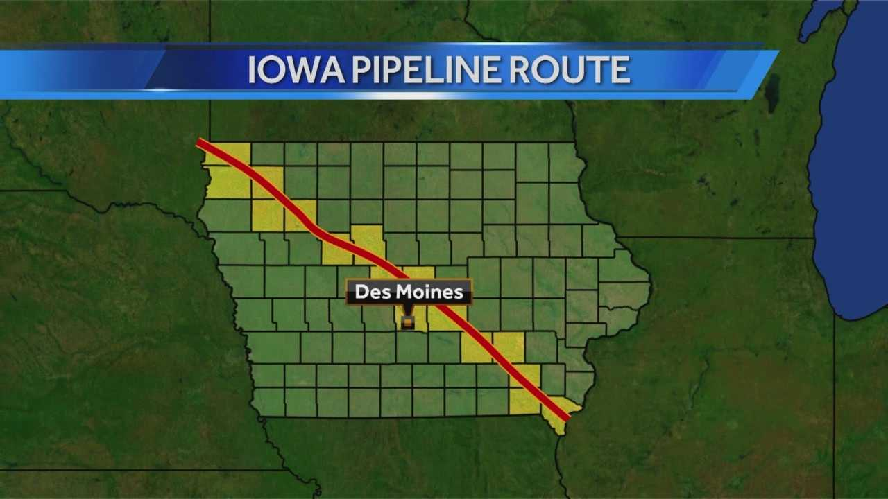 Two years of construction will create jobs across Iowa to build a new pipeline.