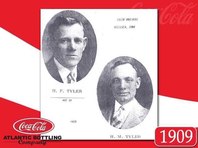 In March of 1909, Harry and Henry Tyler started a wholesale ice cream business.