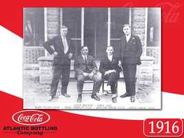 Tyler Brothers Purchase the Coca-Cola plant, but didn't realize the possibilities of this franchise, as they did not start bottling it for 10 years