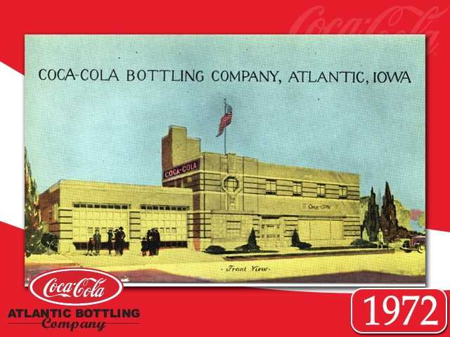 "Atlantic Bottling Co. hits another milestone&#x3B; the first plant in Iowa, and among the first in the nation which bottled drinks in the ""new"" screw cap bottles."