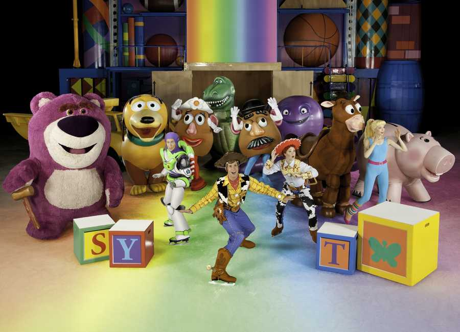 After a mix-up at Andy's house, the Toy Story gang and Barbie find themselves at Sunnyside Daycare where they meet some new faces, including Barbie's groovy bachelor Ken and Lots-o'-Huggin' Bear. Despite Woody's efforts, the toys begin to question their loyalty to Andy until Lotso traps them in the Caterpillar room at the mercy of the rowdy daycare toddlers. An action-packed escape from Sunnyside ensues as the toys try to get back to Andy's house.