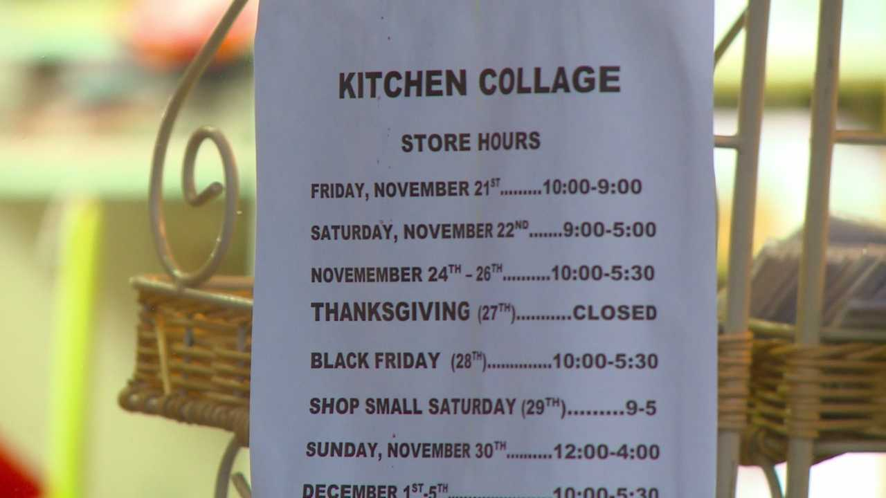 More stores are opening earlier on Thanksgiving Day, but some stores are bucking the trend.