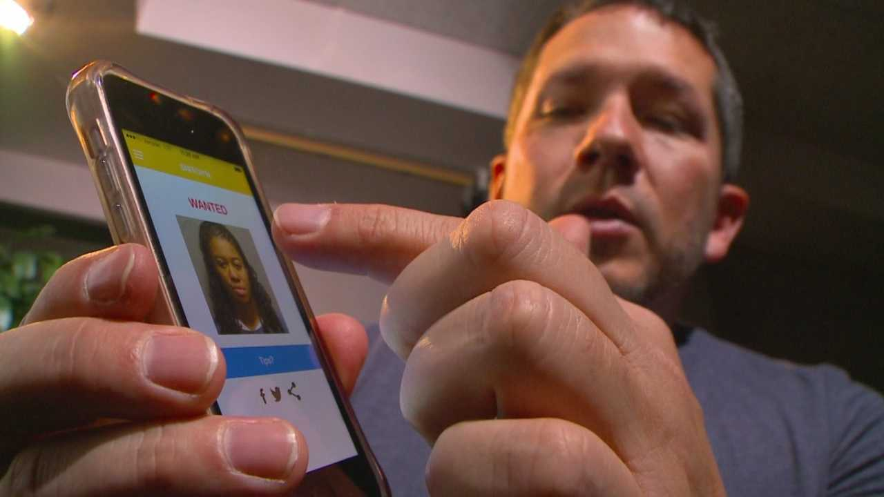 In the app called Snitchin', the public can help law enforcement track down some of Iowa's most wanted.