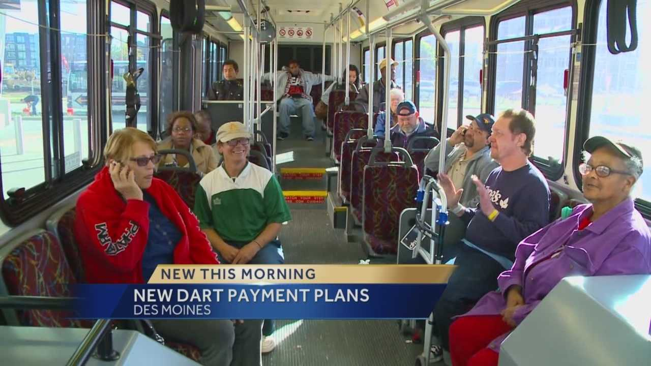 DART is proposing new ways to pay for your bus fares.