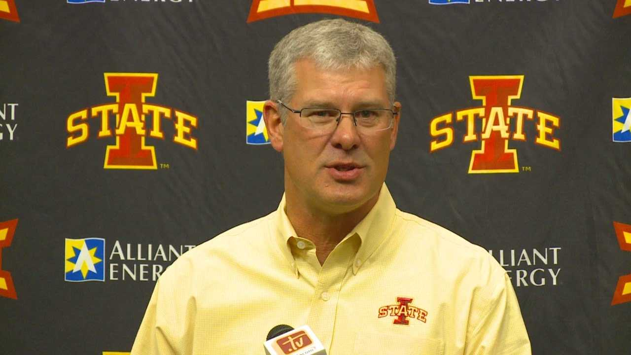 As another tough year winds down, ISU's head coach acknowledged his program needs to do better.