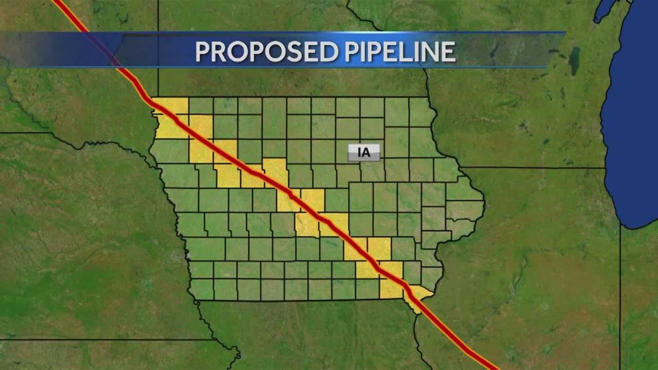 Debate over the oil pipeline proposed to run through the heart of Iowa has hit the Des Moines metro.