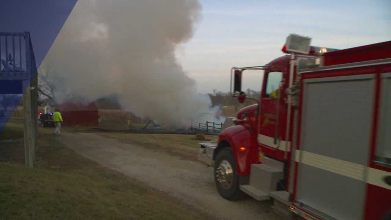Fire crews in Dallas County had a busy afternoon Saturday.