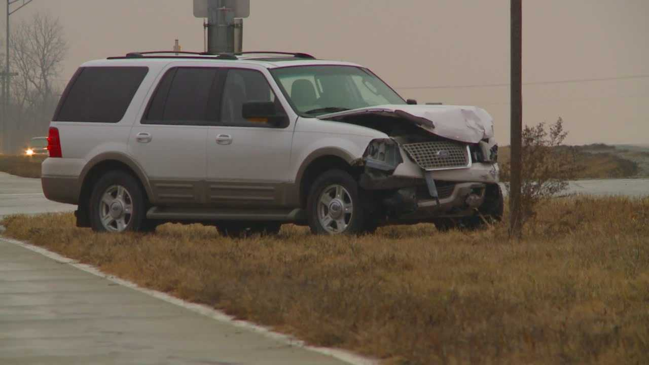 No serious injuries were reported in a crash near Southeast Polk High School.