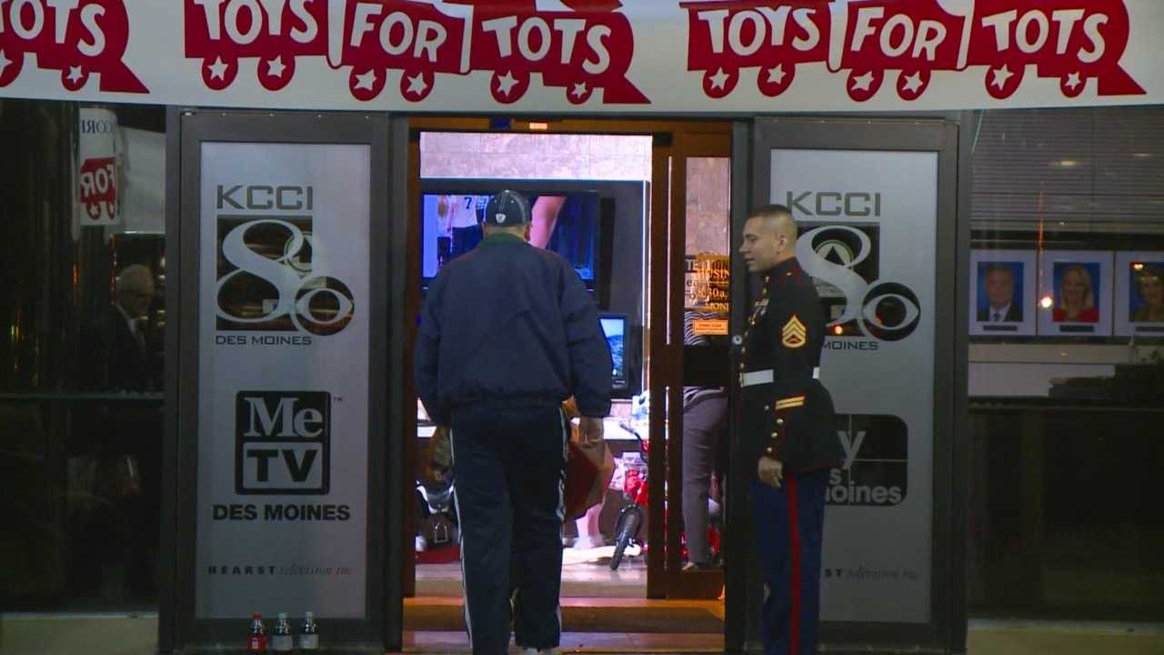 It was a record year at KCCI and the Toys For Tots donation drive.