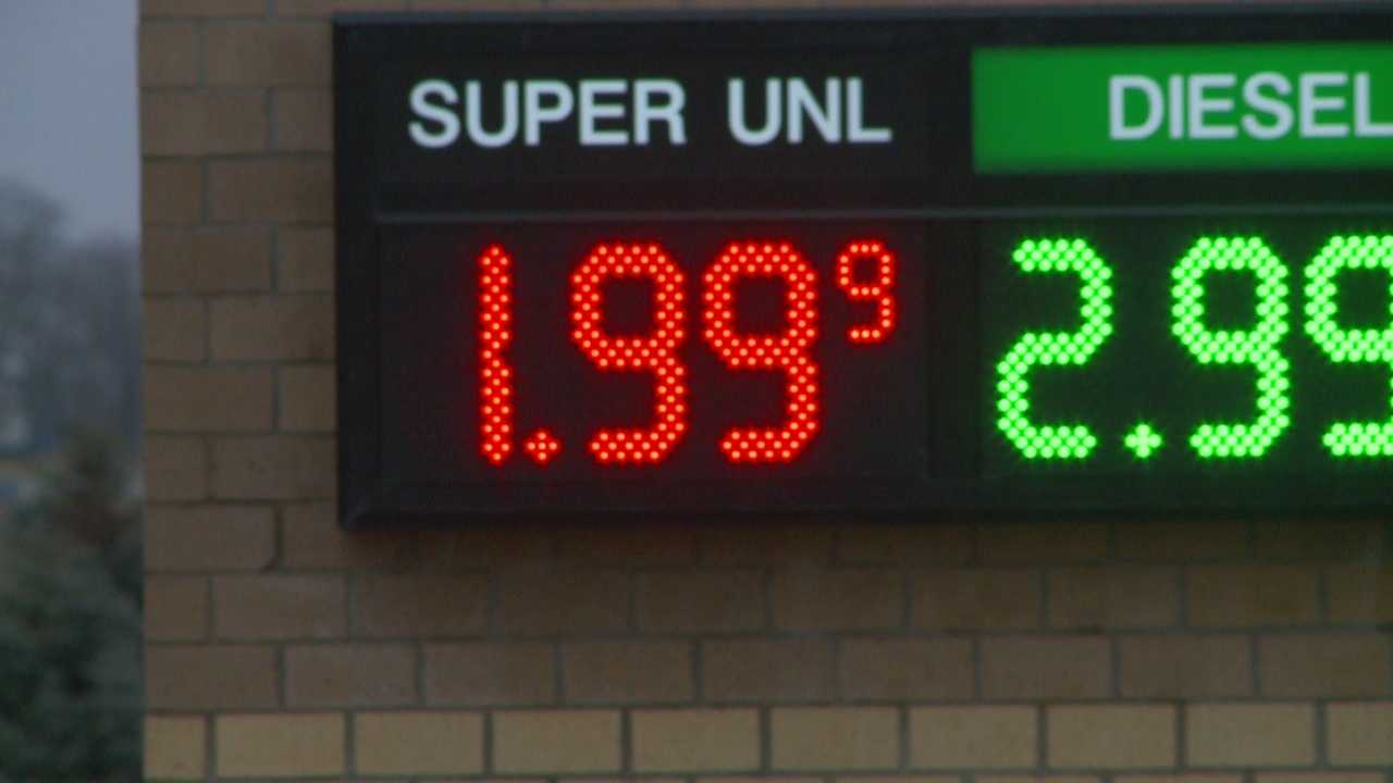 Some Iowans are calling the low gas prices an early holiday gift.