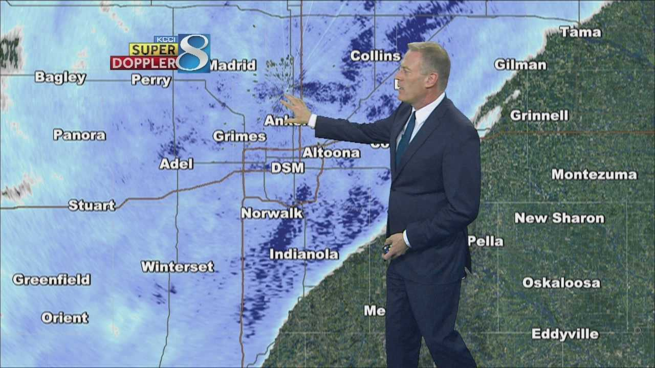KCCI 8 News weather forecast.