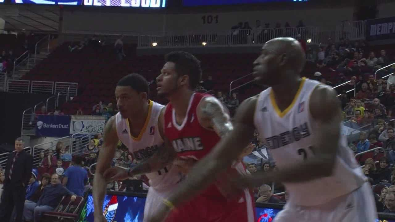 As he eyes an NBA return, the former ISU star is surrounded by familiar players...and fans.