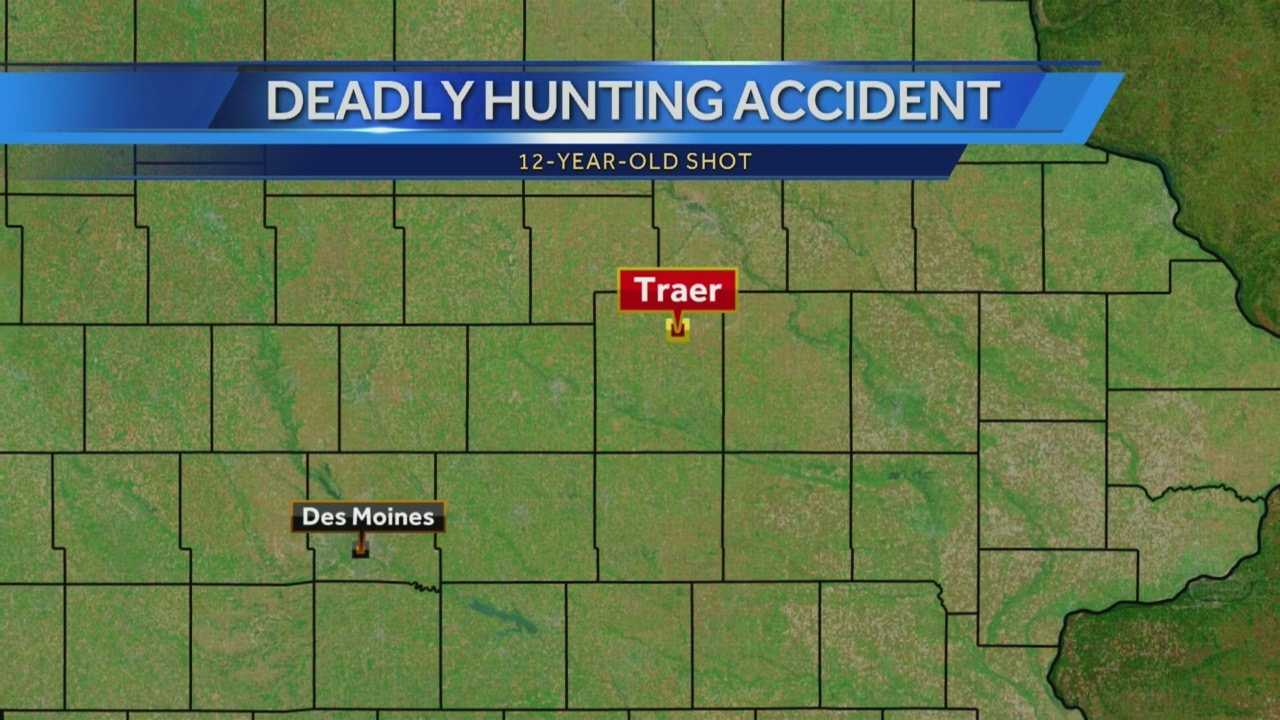 The death marks the first hunting firearm death in Iowa since 2010.