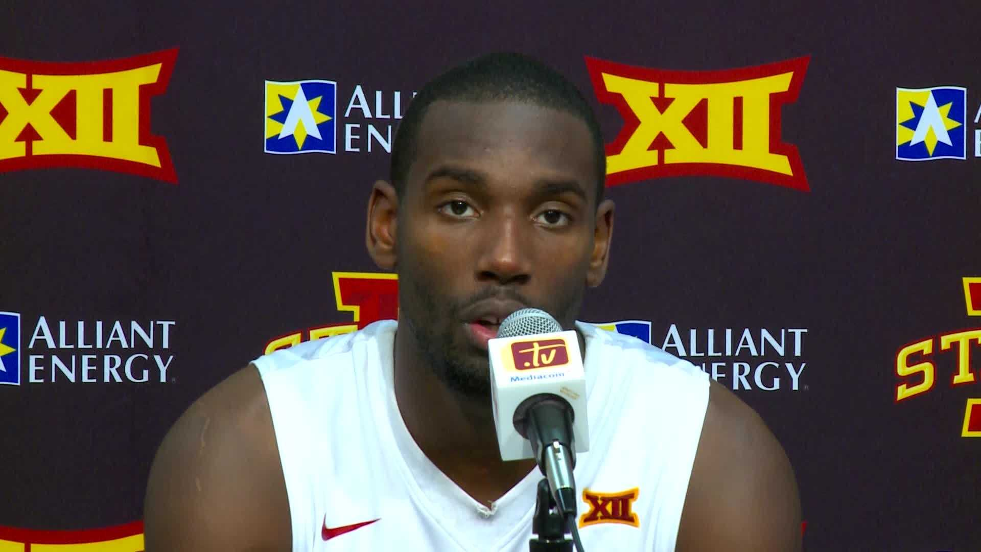 Dustin Hogue and Fred Hoiberg talk about ISU's defense sealing Tuesday's win.