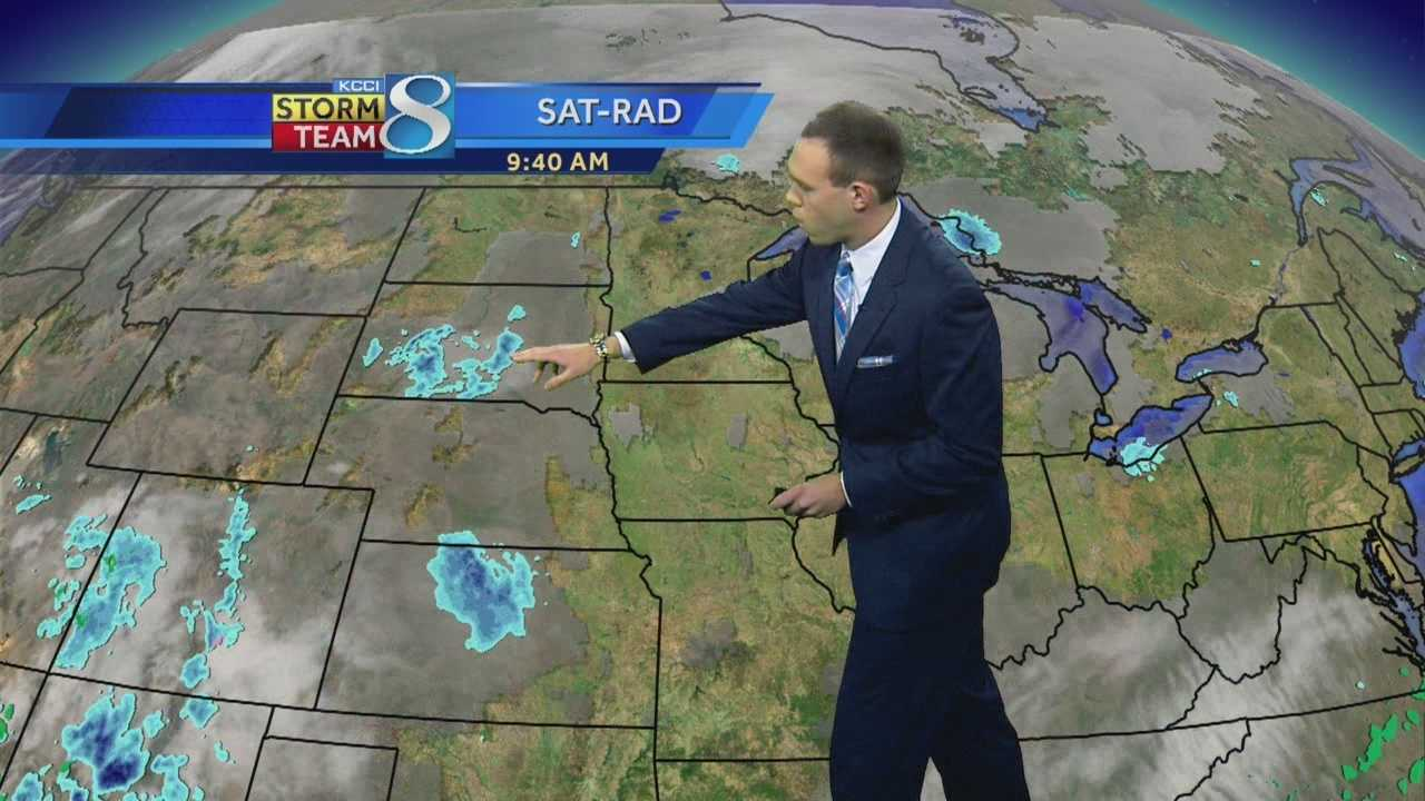 KCCI forecasters Frank Scaglione's forecast for Iowa.