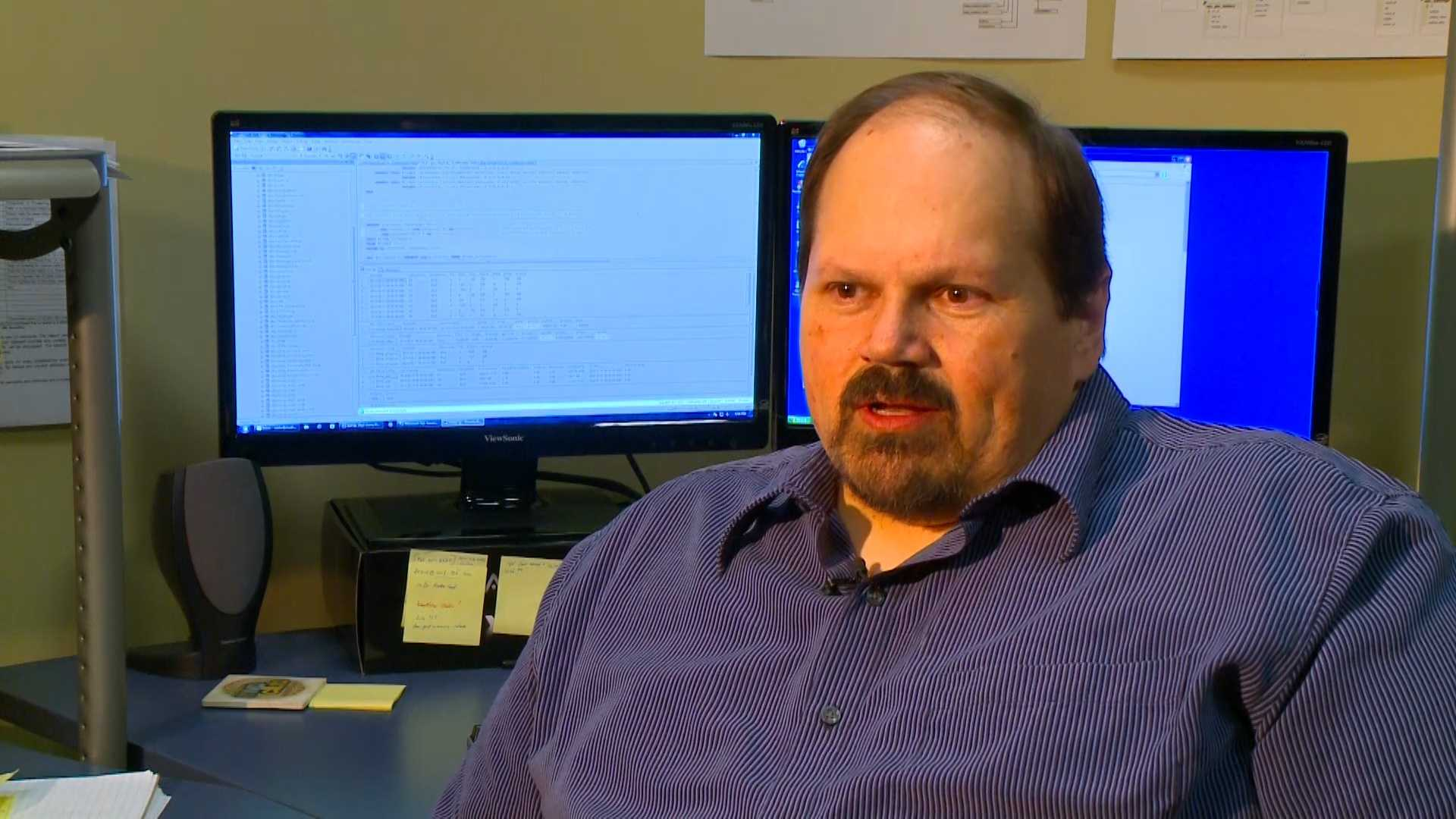 KCCI interviewed Eddie Tipton in February 2014 for a story on how to make your passwords secure in light of all the credit hacking.