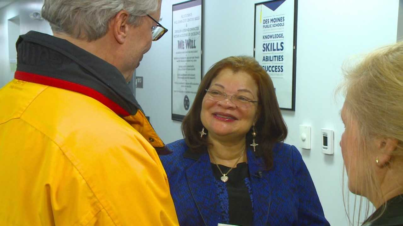 Dr. Alveda King was at North High School Monday still carrying on her uncle's civil rights movement 47 years after his death.