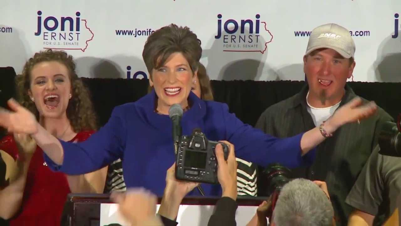 Tonight, President Barack Obama gives his annual State of the Union Address. Right after that, Iowa's Sen. Joni Ernst will have her first big moment in the spotlight as a United States Senator.