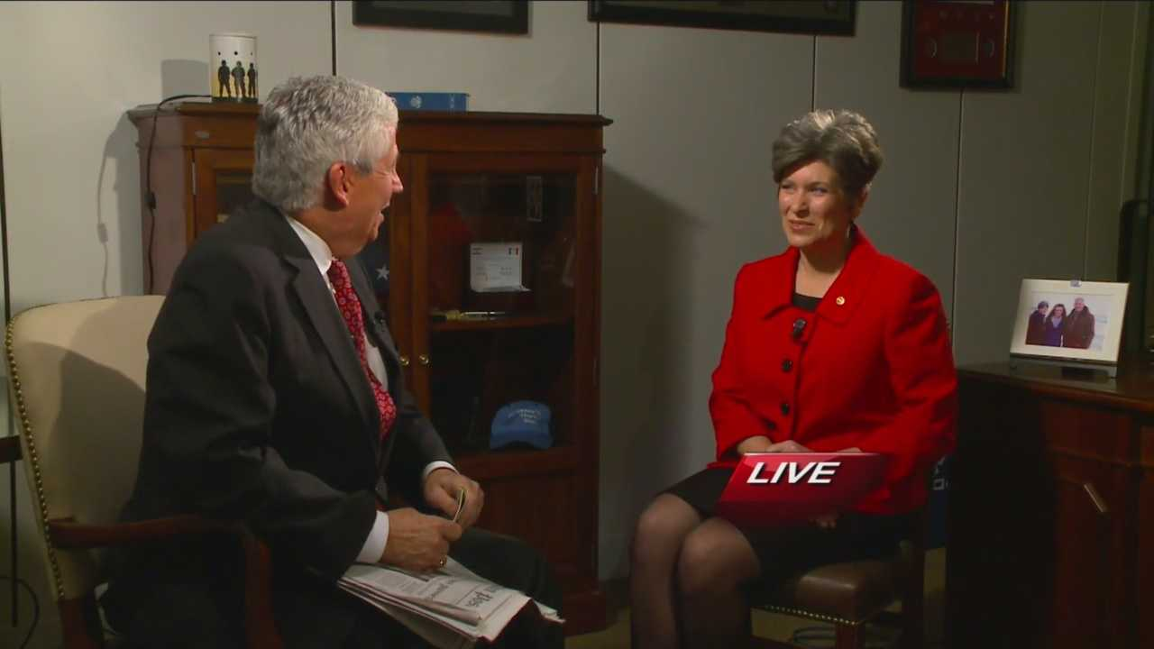 Hours after the State of the Union Response, Joni Ernst sits down with KCCI's Kevin Cooney.