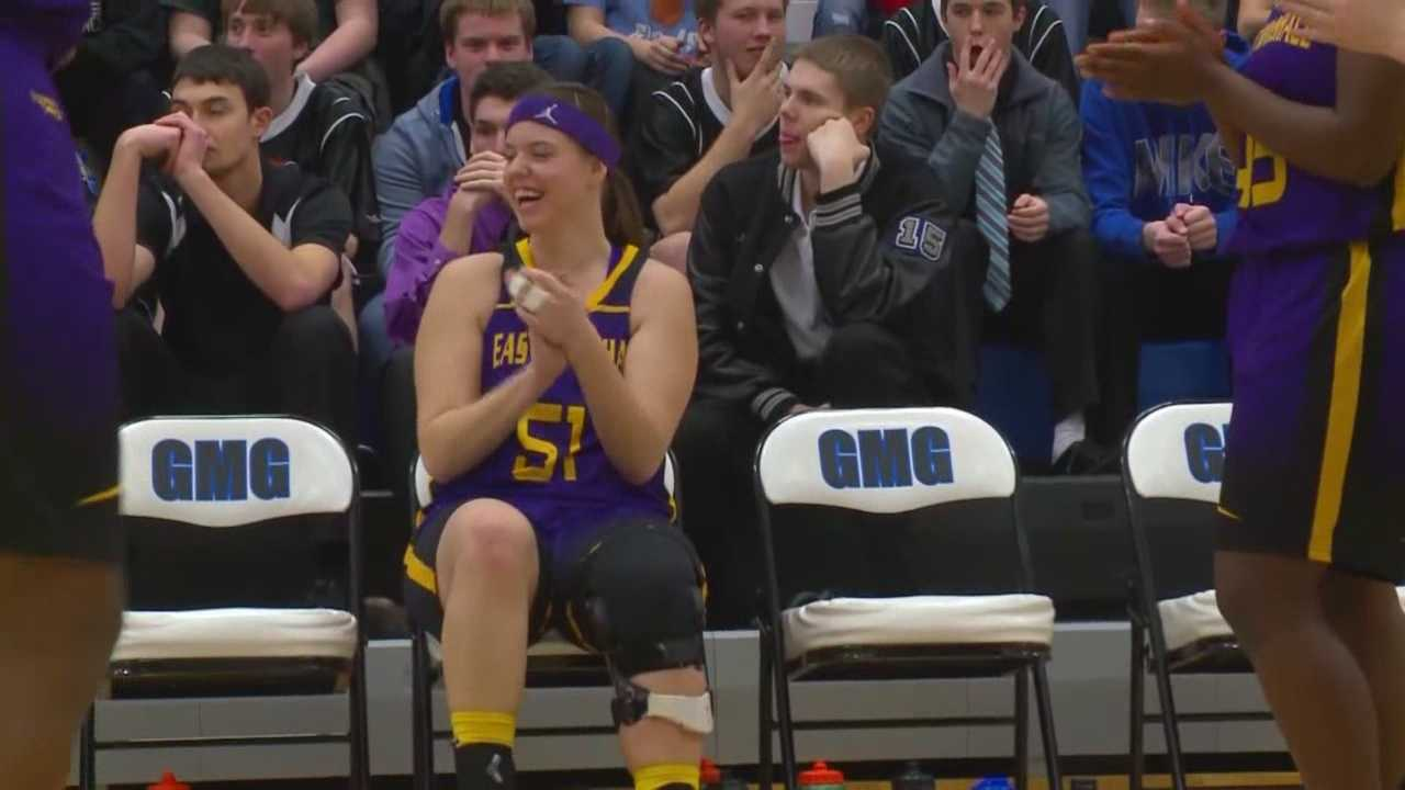 A high school basketball had her share of bad luck, but she has officially bounced back.