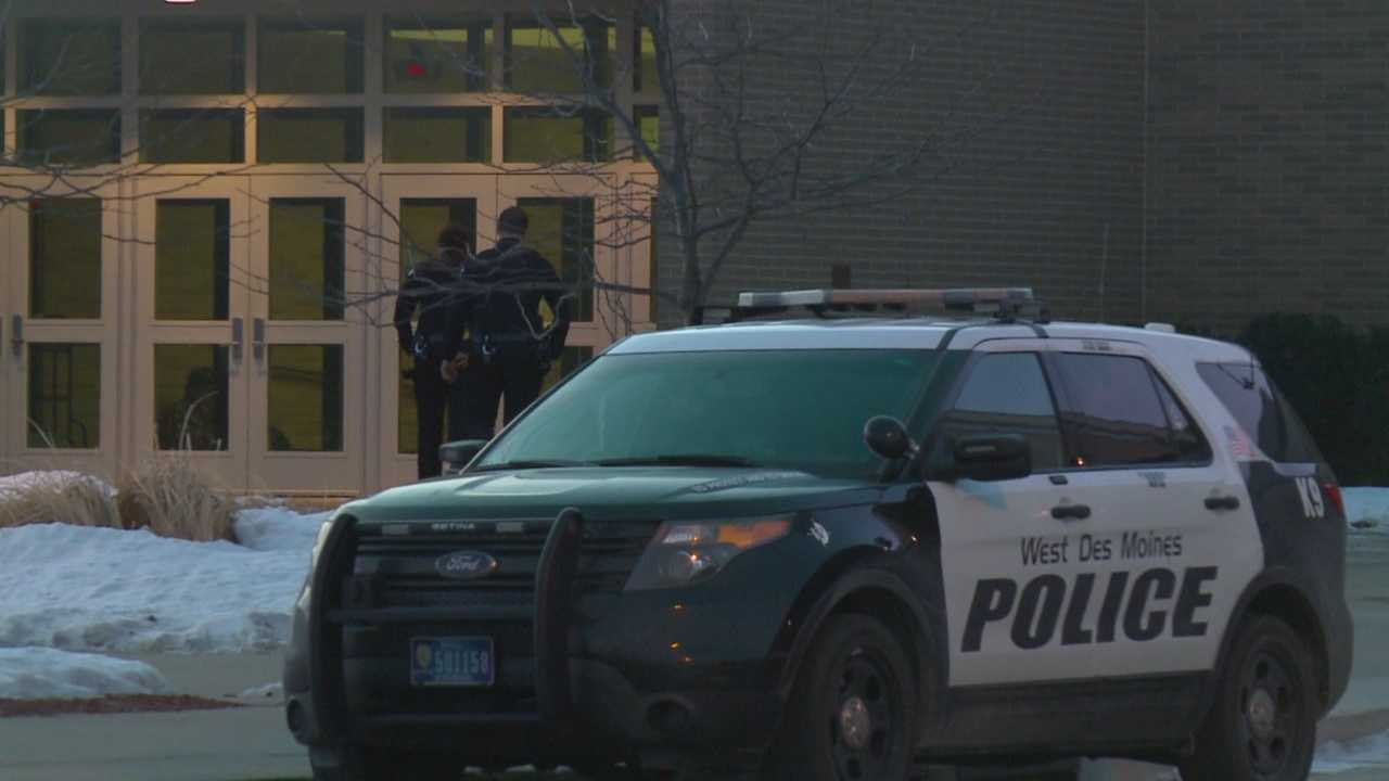 Police had an extra presence at Valley High School in West Des Moines Friday, a day after three fights were reported.