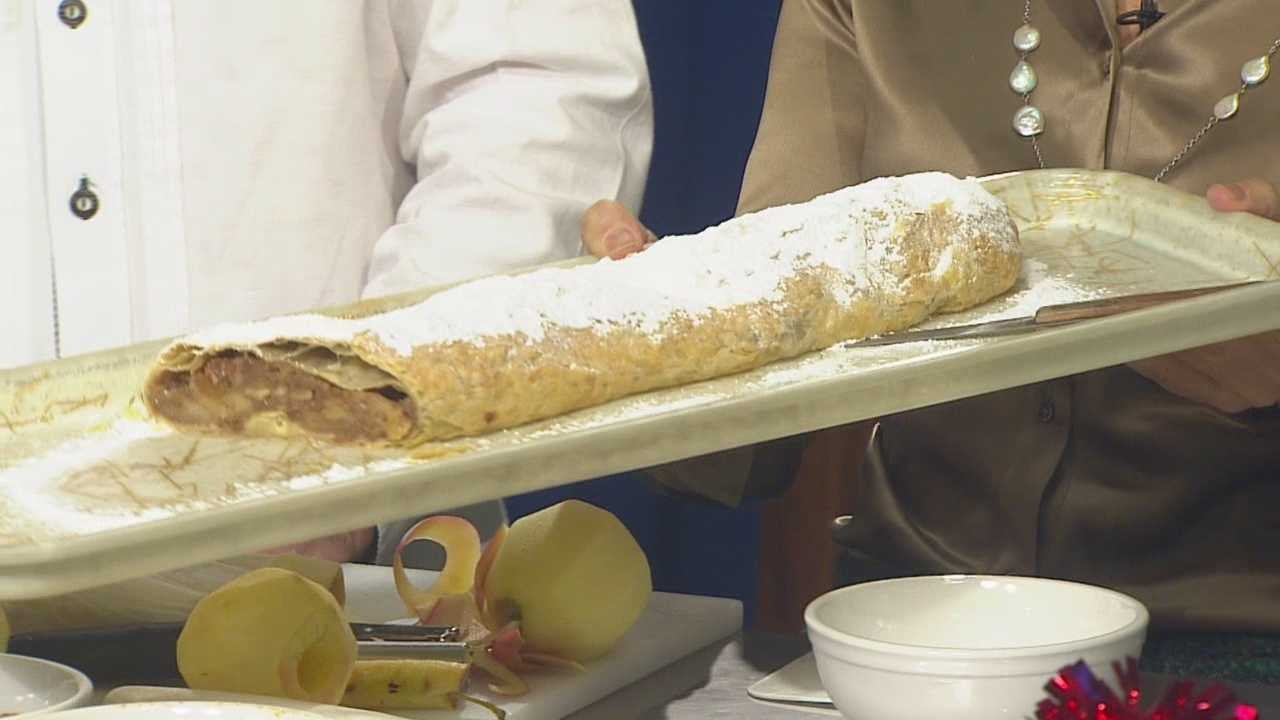 Austrian Native Michael Leo, of Strudl Haus, walks you through how to make the perfect apple strudel. Go to www.strudlhaus.com for more info about Strudl Haus!