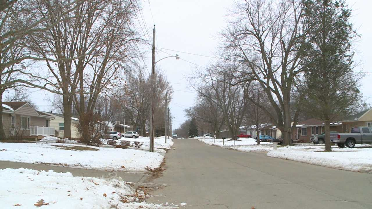 Neighbors said a Saturday morning burglary is the latest of a string of break-ins in the rural county.