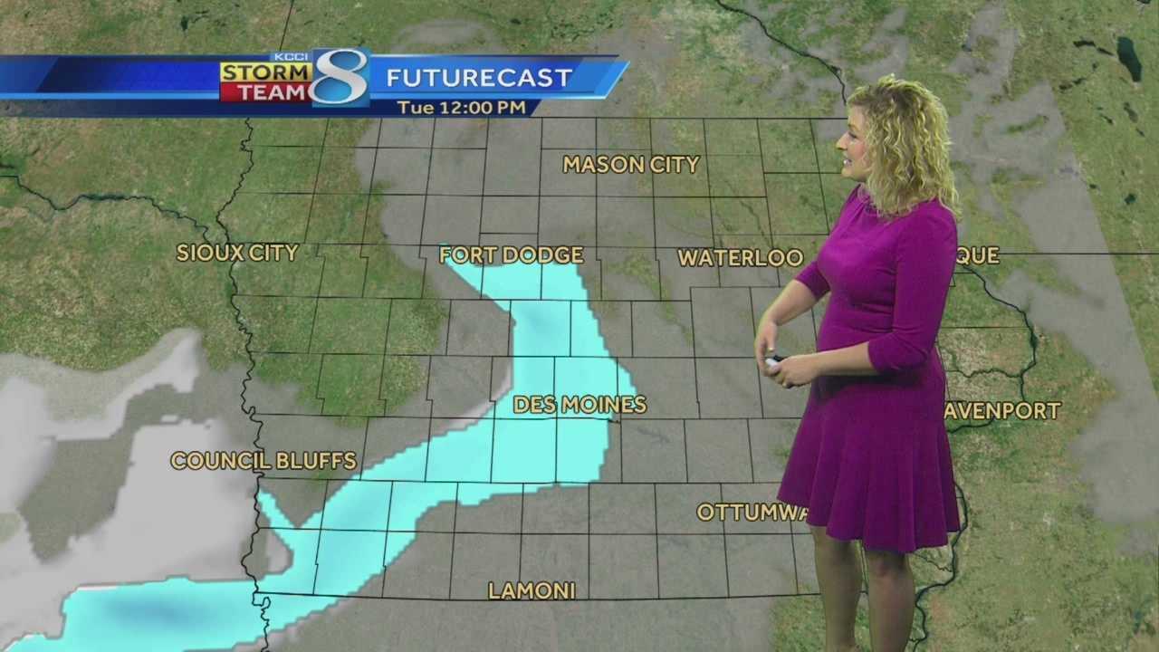 KCCI Meteorologist Metinka Slater's forecast for Iowa.