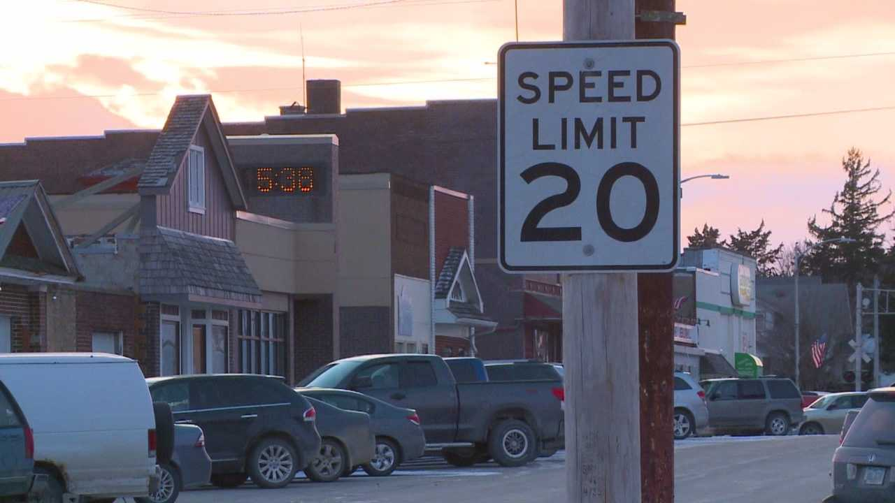It could be the smallest town in Iowa to install a speed camera.