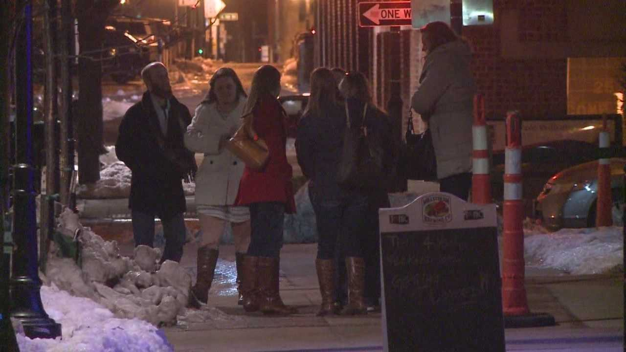 A mother expresses concern about crime in a popular downtown area of Des Moines.