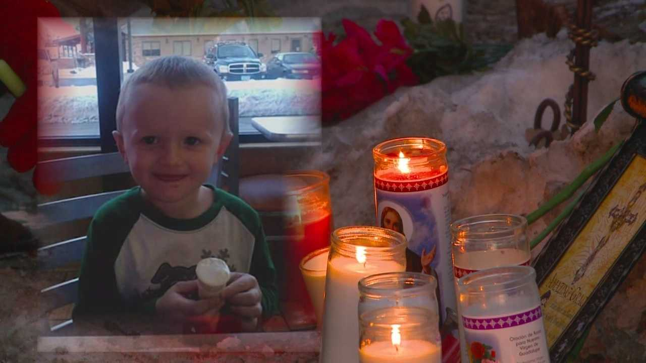 A witness said the 5-year-old boy ran back inside a house fire to save his friends.