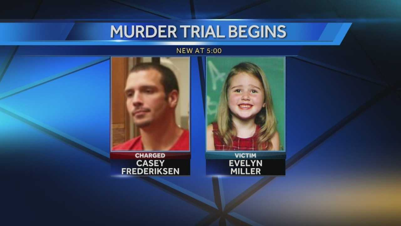 Jury selection began Monday for a first-degree murder and first-degree sexual abuse trial.