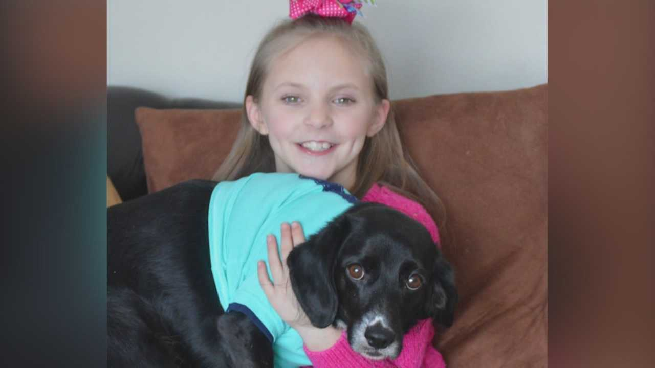 An eight-year-old in Blairsburg, Iowa is getting national attention.