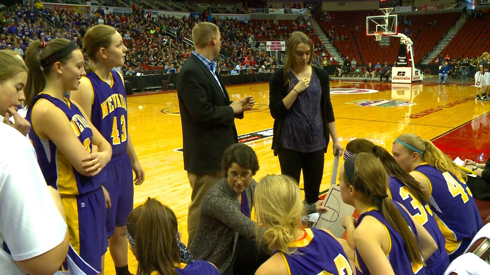 Nevada will play for it's first state championship at the girls' state basketball tournament since 1920.