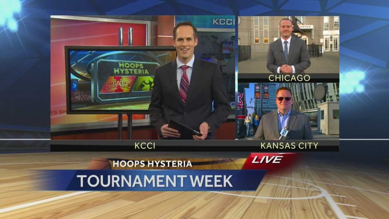 KCCI has team coverage from KC and Chicago.