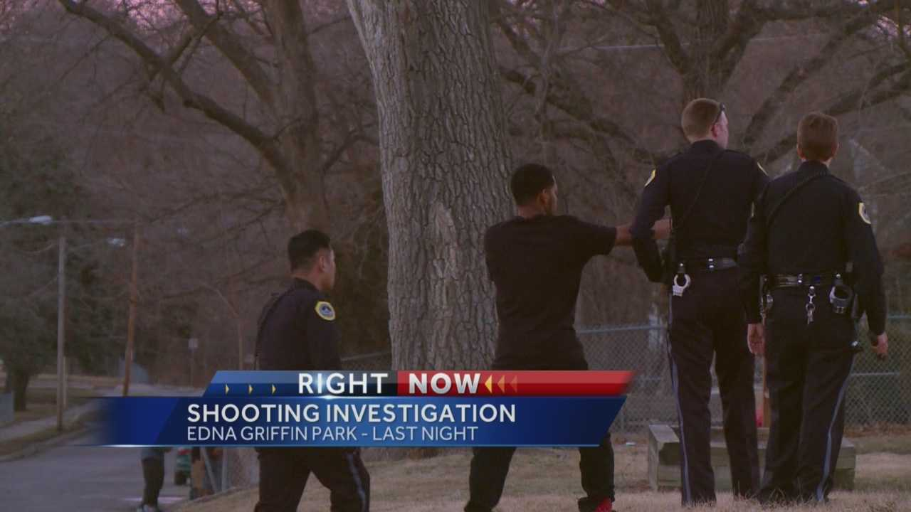 An update on a shooting in a Des Moines park Thursday.