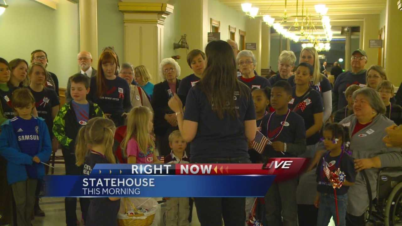 A group of mother opposes proposed changes to Iowa's gun laws.