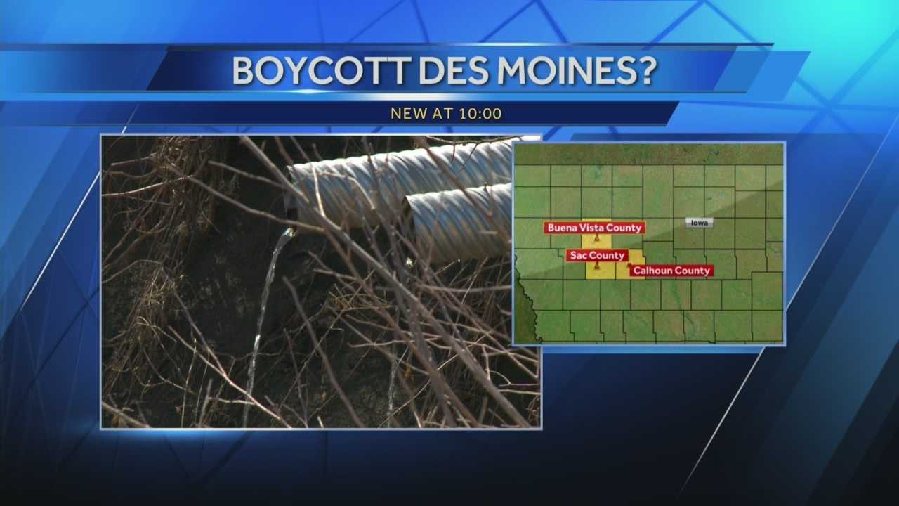 A Northern Iowa lawmaker has strong words in the wake of news that Des Moines Water Works is suing three northern Iowa counties.
