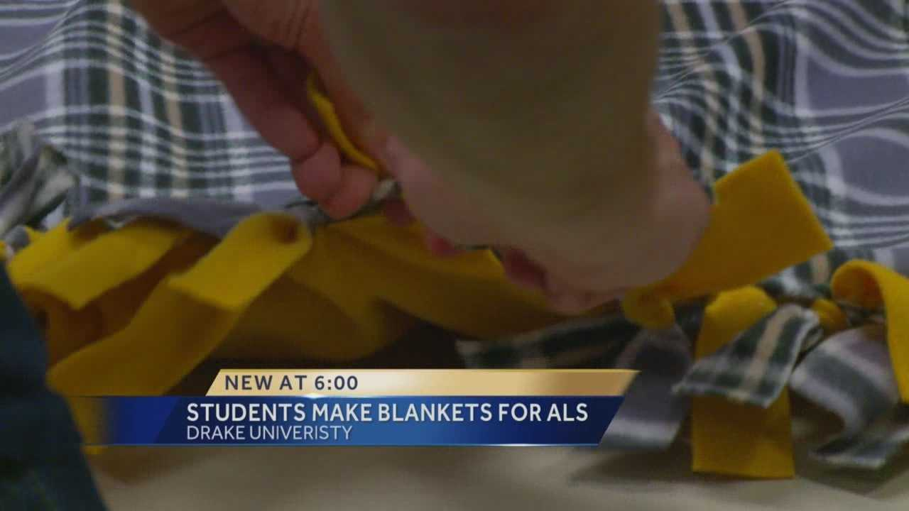 The project aims to help people with ALS, who have circulation problems, stay warm.