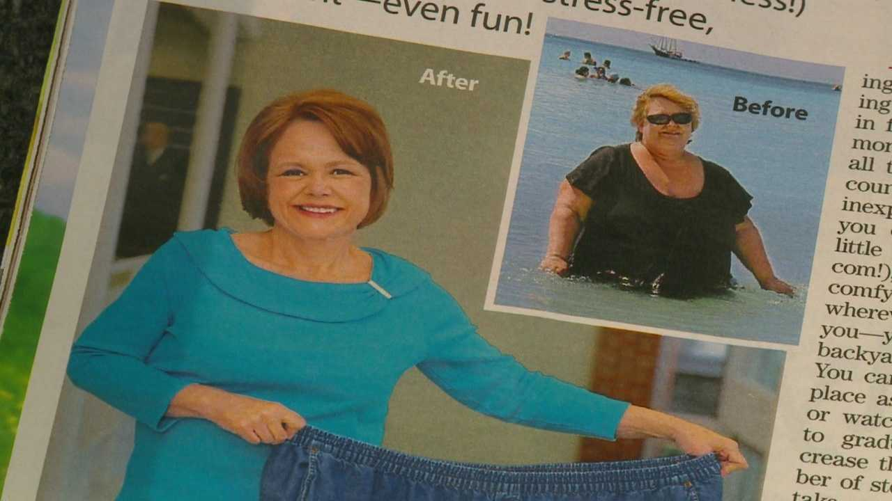 Jill Vento lost 200 pounds by walking at the Des Moines Airport three times per day.