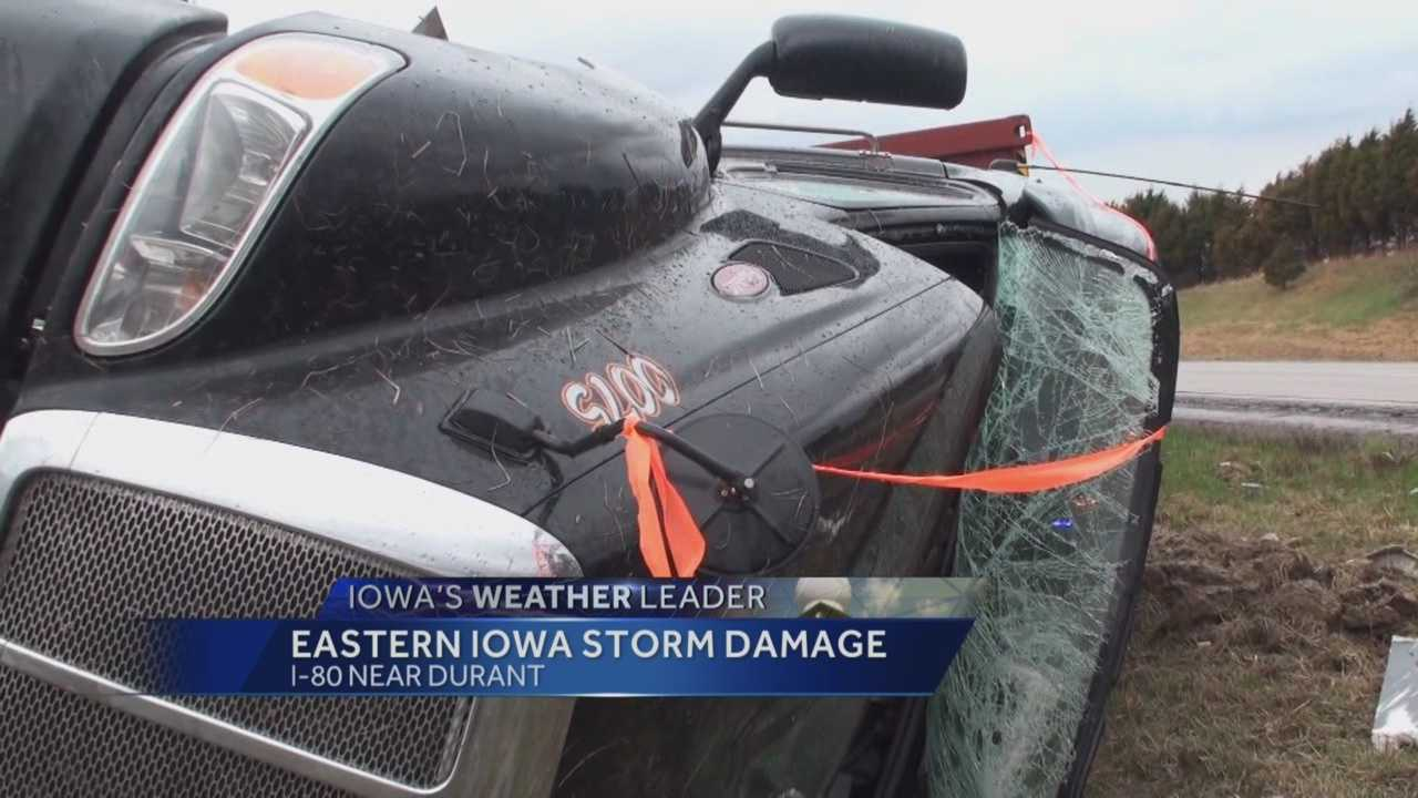 Iowa Storm Chasing Network storm chasers found tornado damage in eastern Iowa Thursday